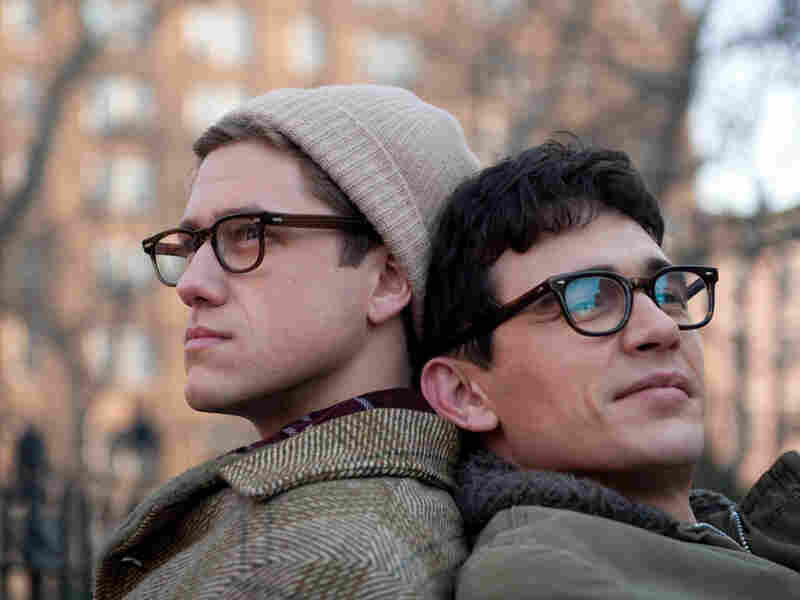 James Franco and Aaron Tveit