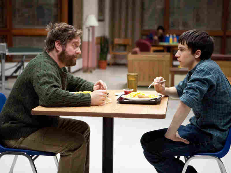 Zach Galifianakis and Keir Gilchrist