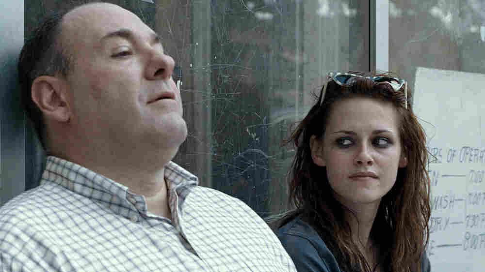 James Gandolfini and Kristen Stewart