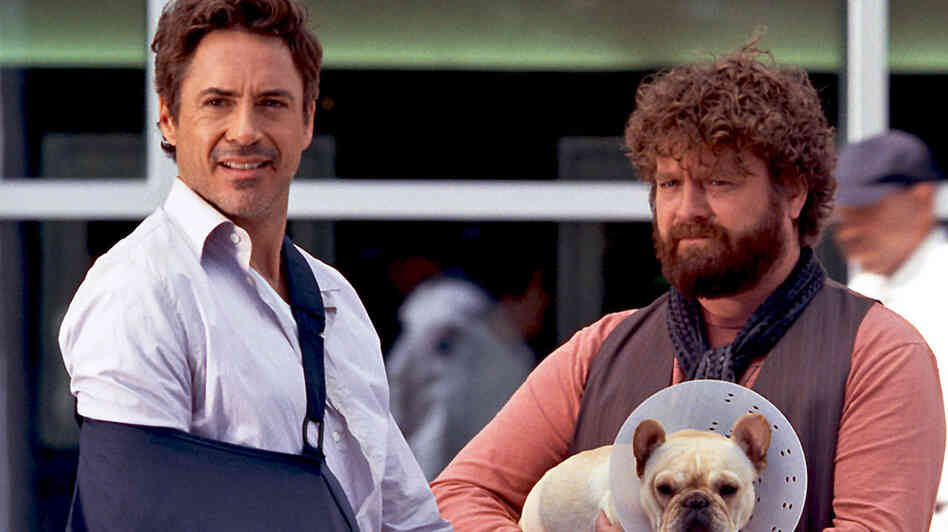 Robert Downey, Jr. and Zach Galifianakis