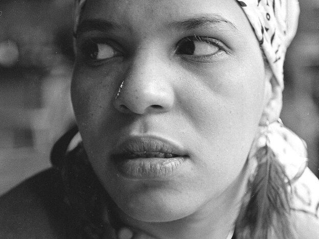"Playwright Ntozake Shange called the original stage production of <em>For Colored Girls</em> a ""choreopoem"" because of it's heavy use of poetry.<em></em>"