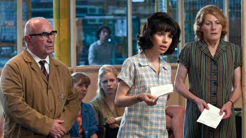 Bob Hoskins, Sally Hawkins, and Geraldine James