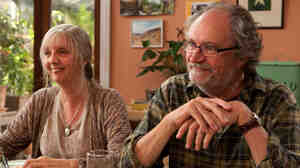 Ruth Sheen and Jim Broadbent