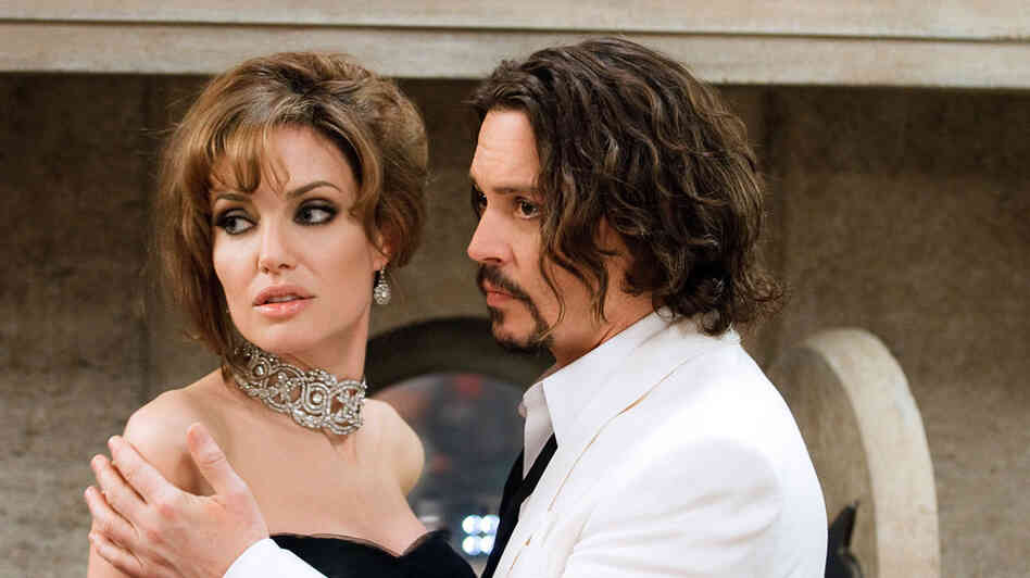 Angelina Jolie and Johnny Depp