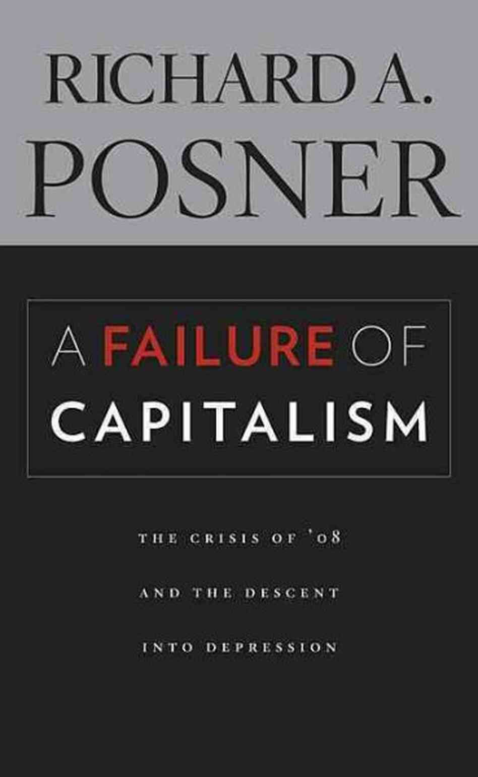 A Failure of Capitalism