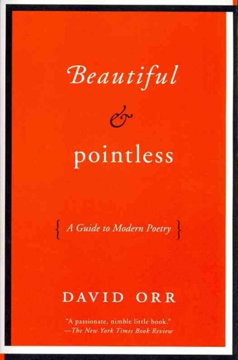 Poetry Book Cover Guide ~ Beautiful pointless npr