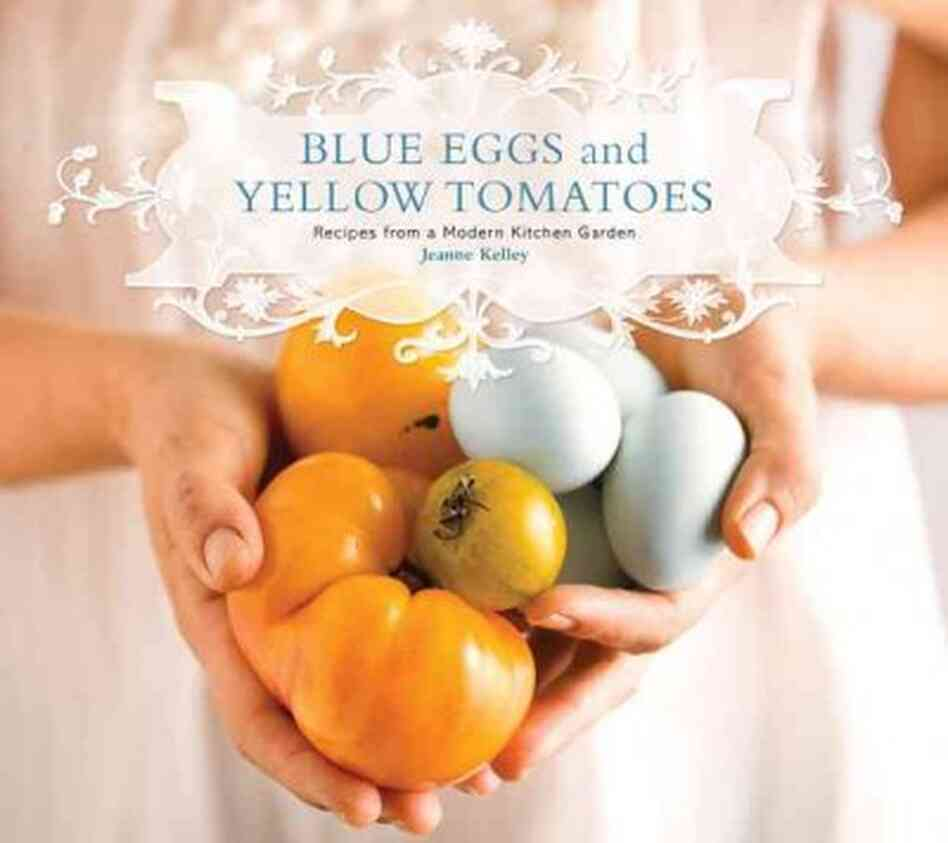 Image result for blue eggs & yellow tomatoes