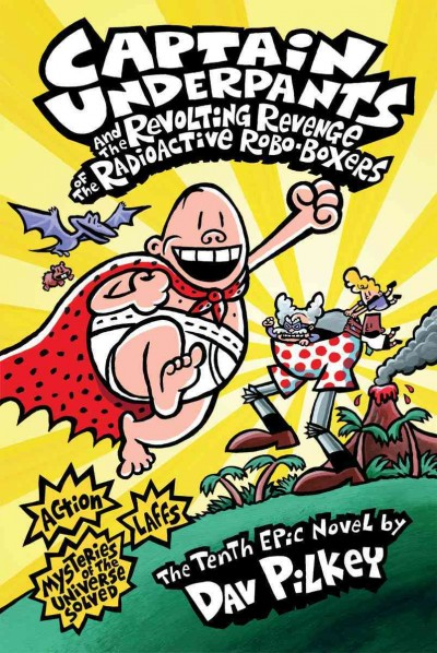 Book News: 'Captain Underpants' Tops List Of Most-Challenged Books