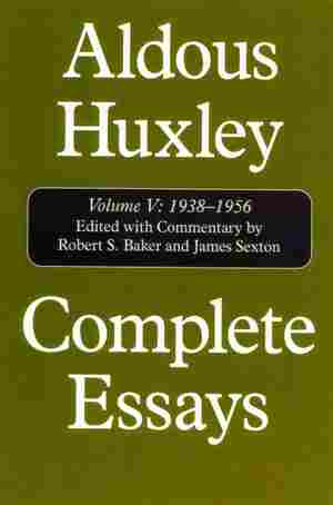 Complete Essays, 1939-1956