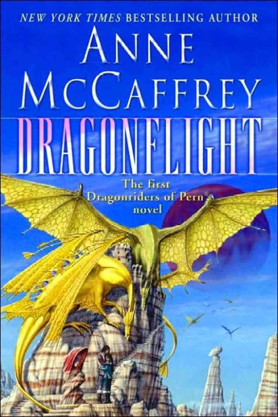 Dragonflight is the first book in the iconic Dragonriders of Pern series.