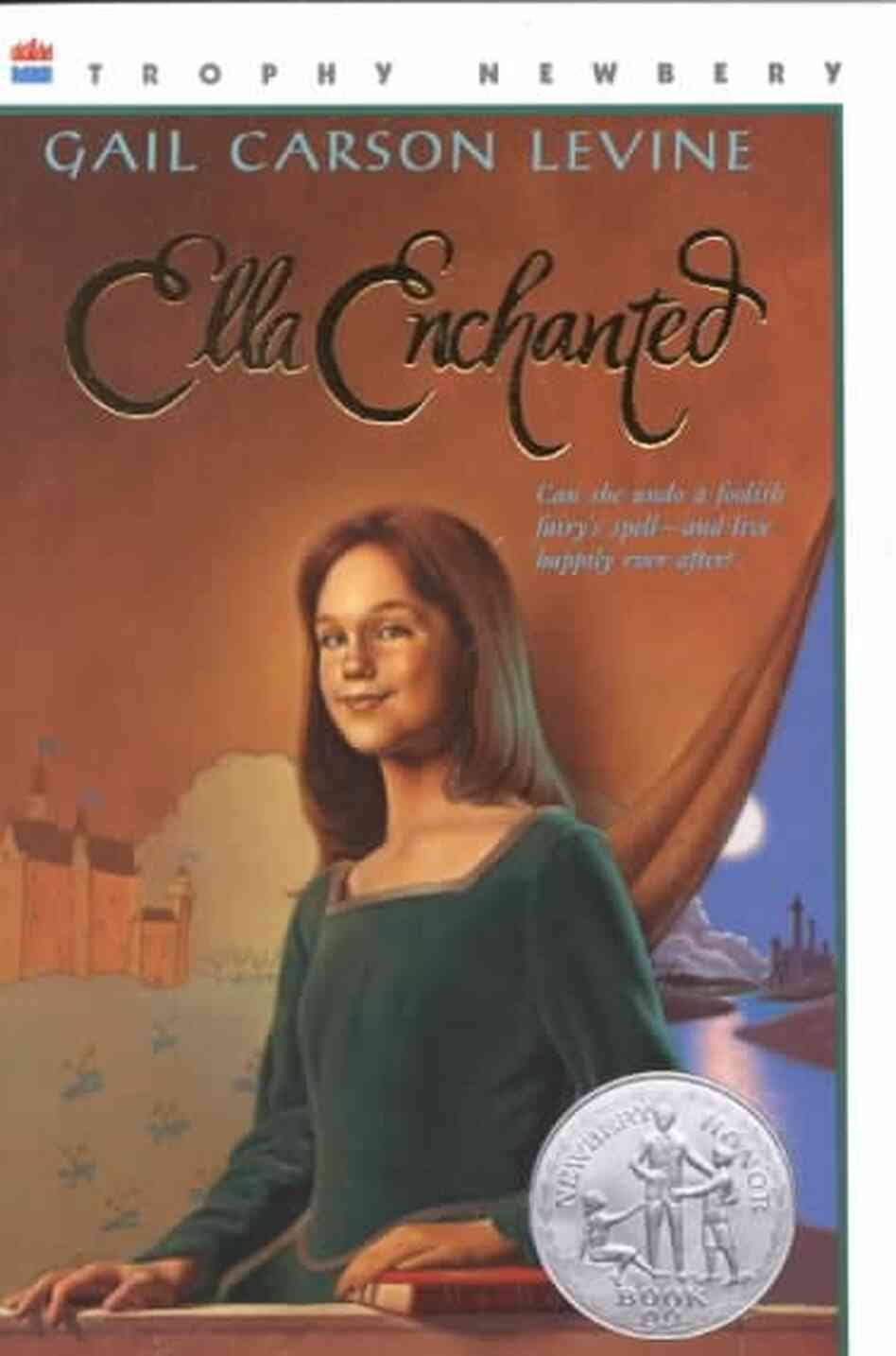 Meddling Kids Book Cover : Ella enchanted