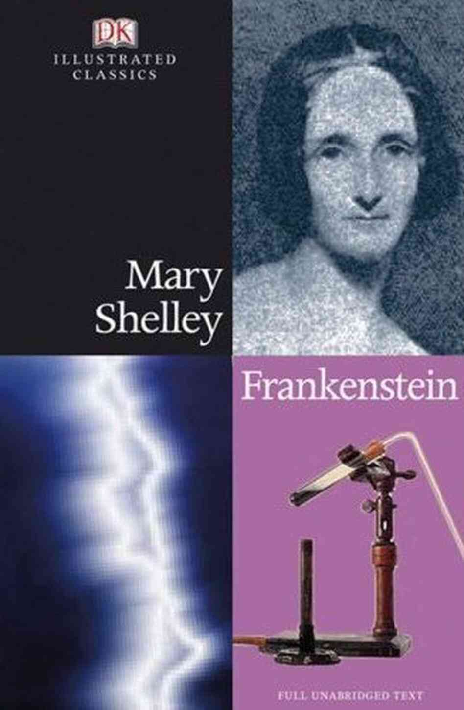 a short analysis of the story of frankenstein by mary shelley