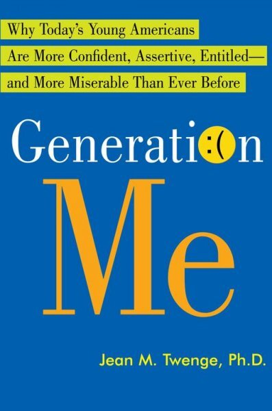 generation me Yet despite exhibiting some signs of self-obsession, young americans are not more self-absorbed than earlier generations, according to new research challenging the prevailing wisdom.
