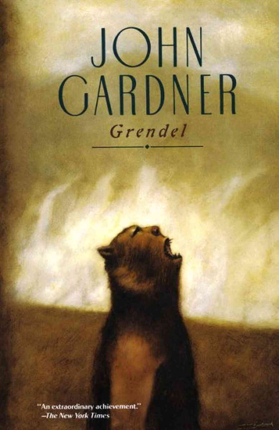 nihilism in the novel grendel by john gardner Where does grendel find himself at the end of the novel nihilism what school of john gardner's father was a _____.