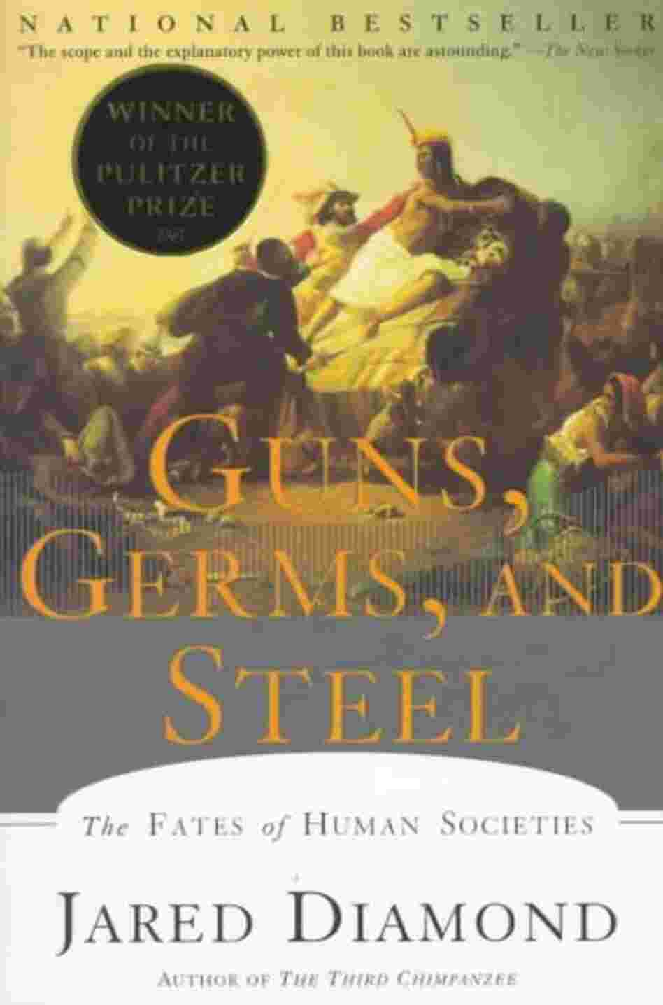 guns germs and steel packet Guns, germs and steel jared diamond, author of the pulitzer prize winning, national best selling book guns, germs and steel, summarizes his book by saying the following: history followed different courses for different peoples because of differences among peoples' environments, not because of biological differences among peoples themselves.