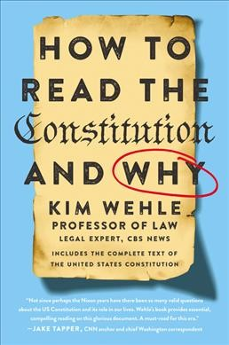 'A Lot Of Gray Area': A Legal Expert Explains 'How To Read The Constitution'