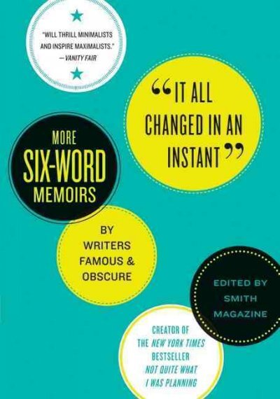 six word essays npr The result is not quite what i was planning, a collection of six-word memoirs by famous and not-so-famous writers, artists and musicians their stories are sometimes sad, often funny — and always concise.
