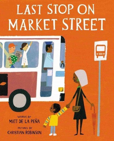 Image result for Last Stop on Market Street, illustrated by Christian Robinson