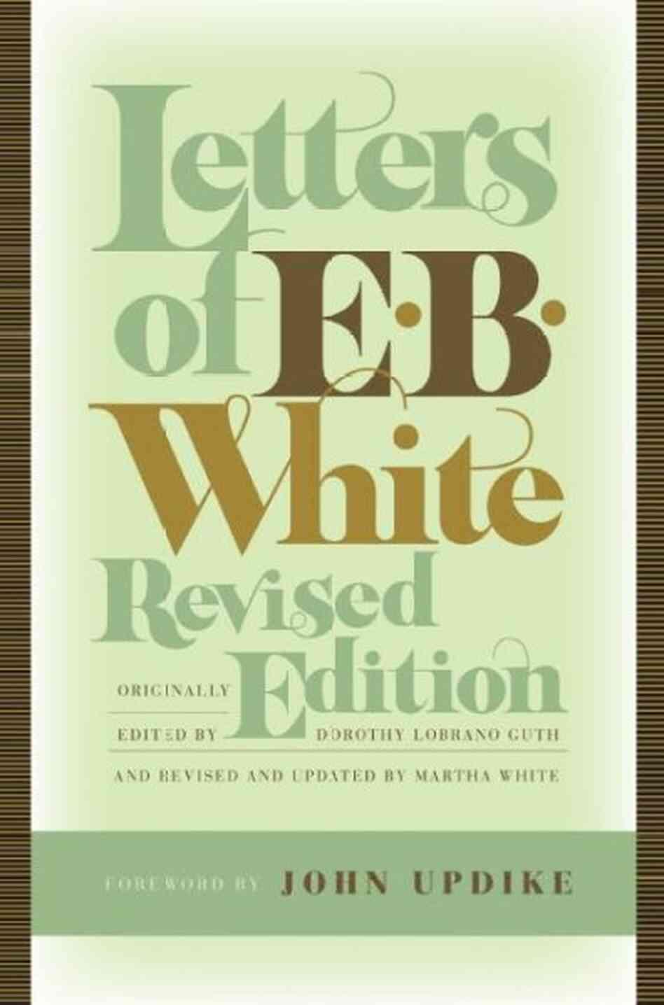 e b white essay