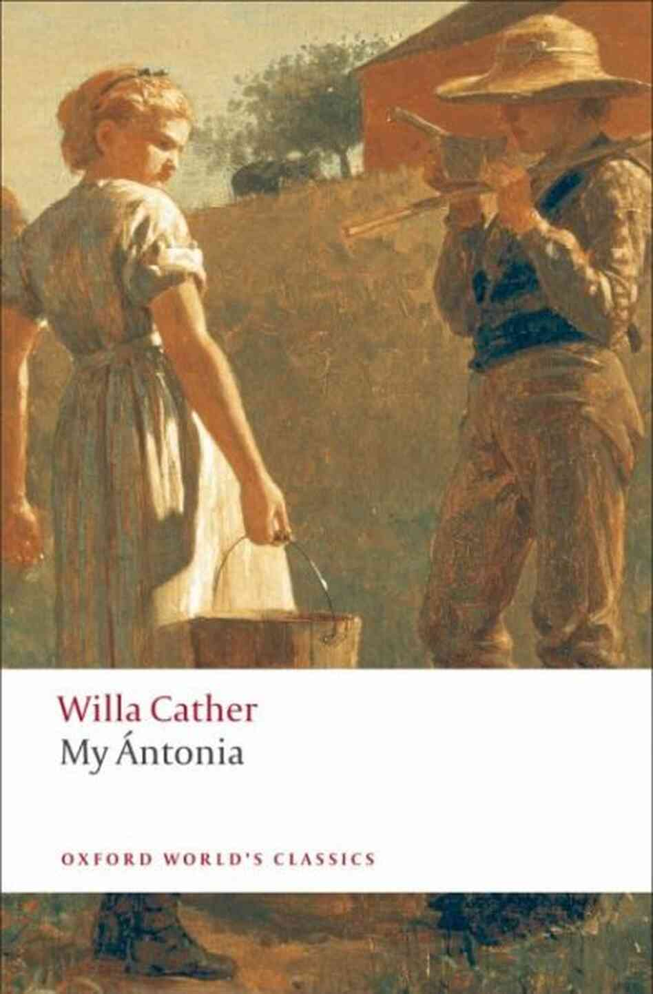 review of willa cather s my antonia My Ántonia willa cather table of contents plot  buy the print my Ántonia sparknote on bncom  my antonia (sparknotes.