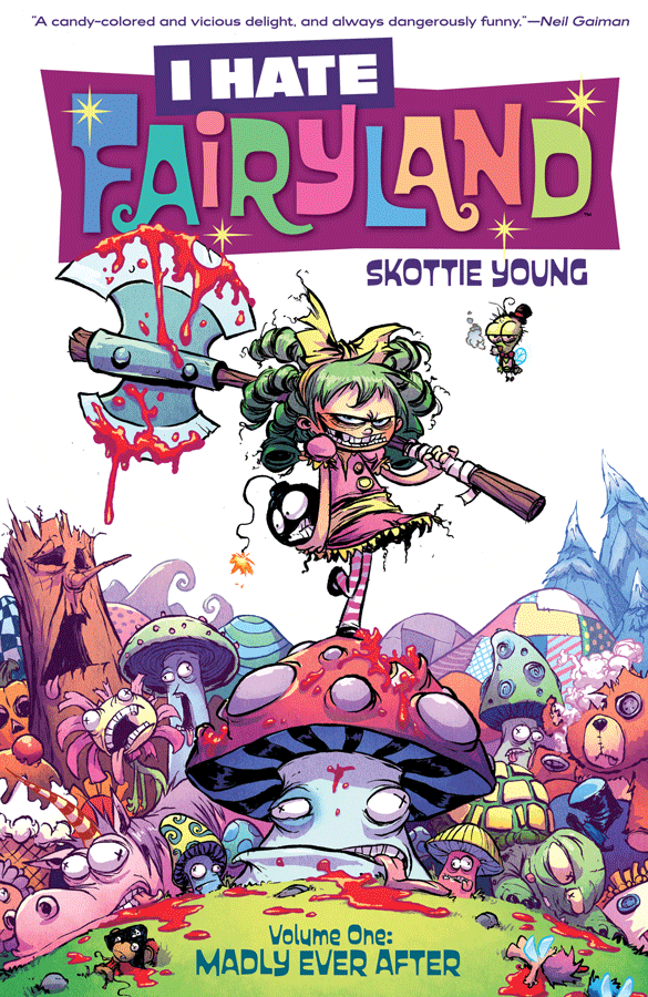 Book Review: 'I Hate Fairyland, Vol  1' By Skottie Young : NPR