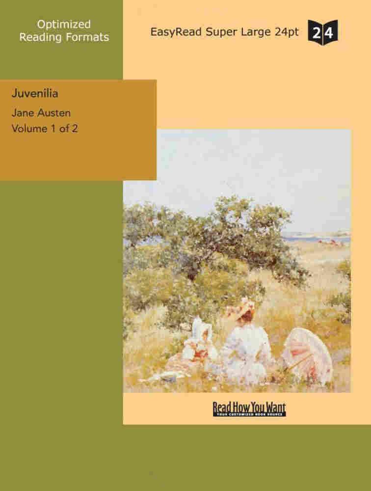 Juvenilia cover