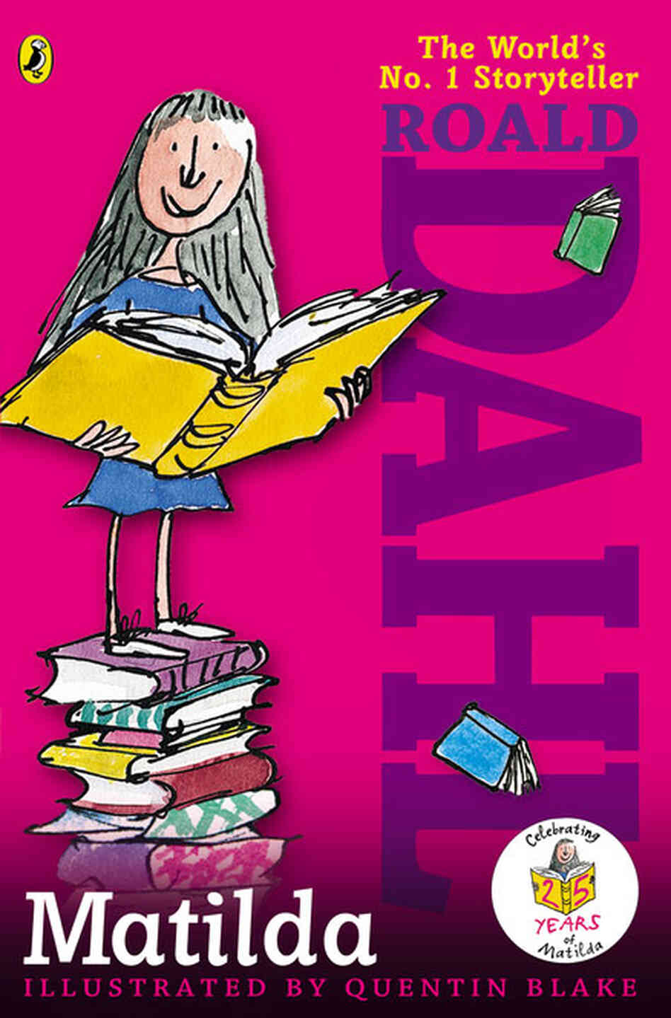 Roald Dahl Wanted His Magical 'Matilda' To Keep Books ...