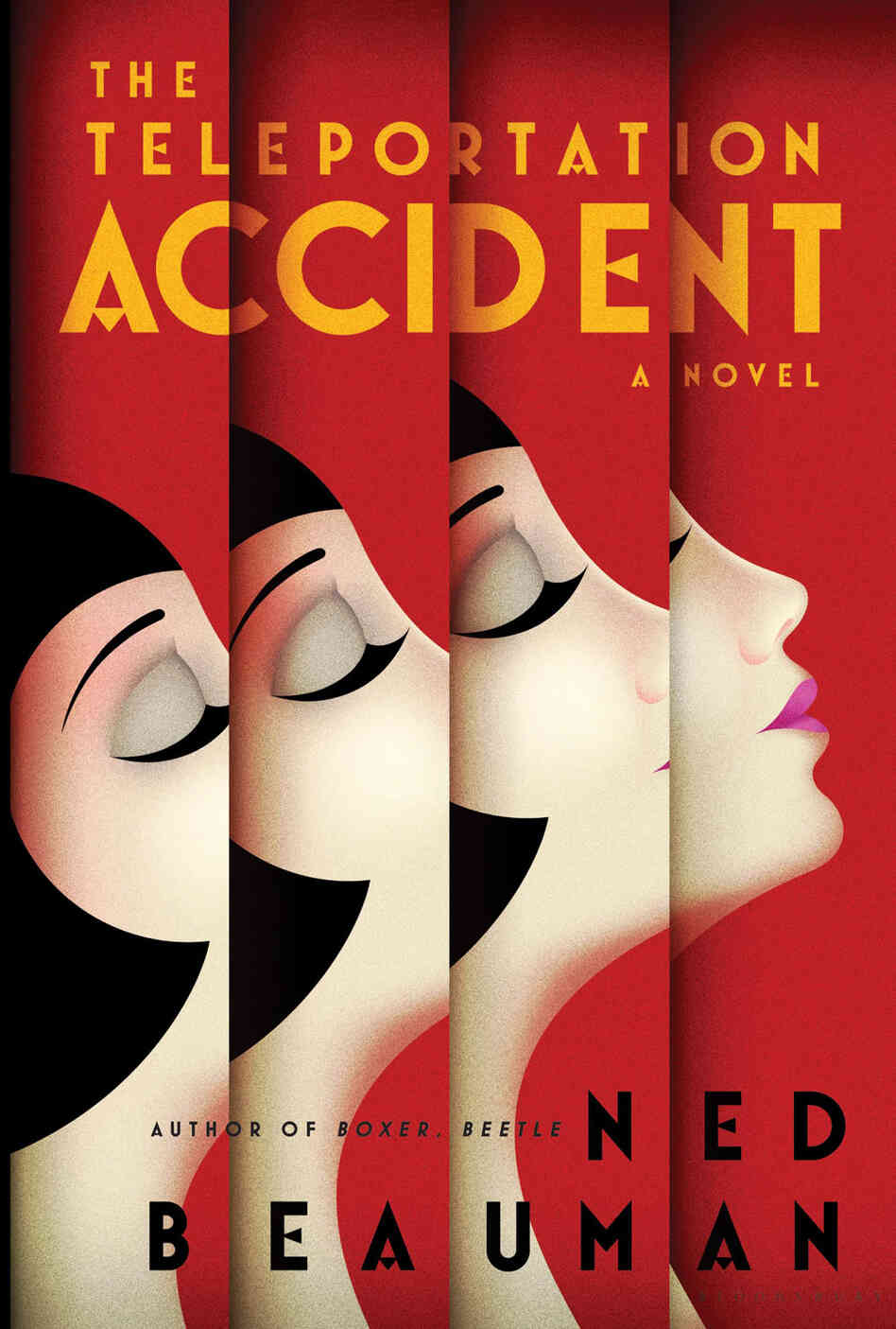 Book Cover Art History ~ Book review the teleportation accident by ned beauman npr