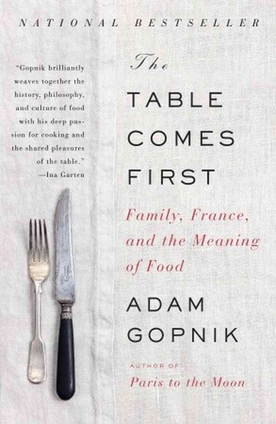 The Table Comes First cover.