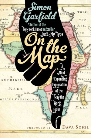 Book review on the map by simon garfield new history puts on the map gumiabroncs Choice Image