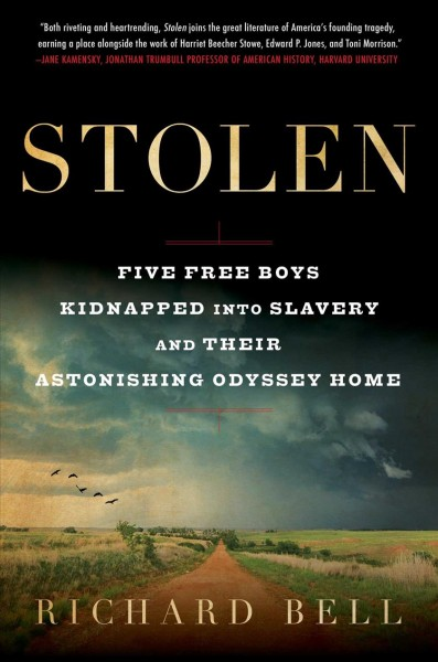 In 'Stolen,' Five Boys Are Caught In A Reverse Underground Railroad Toward Slavery