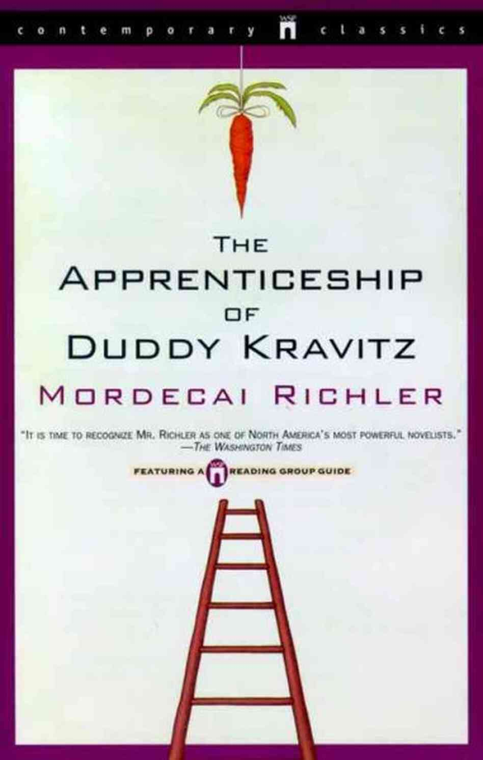 a literary analysis of the apprenticeship of duddy kravitz Mordecai richler was a canadian author, screenwriter and essayist his best known works are the apprenticeship of duddy kravitz (1959) and barney's ver.