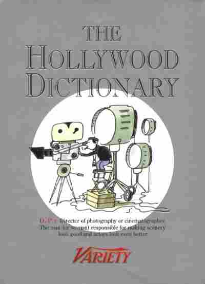 The Hollywood Dictionary
