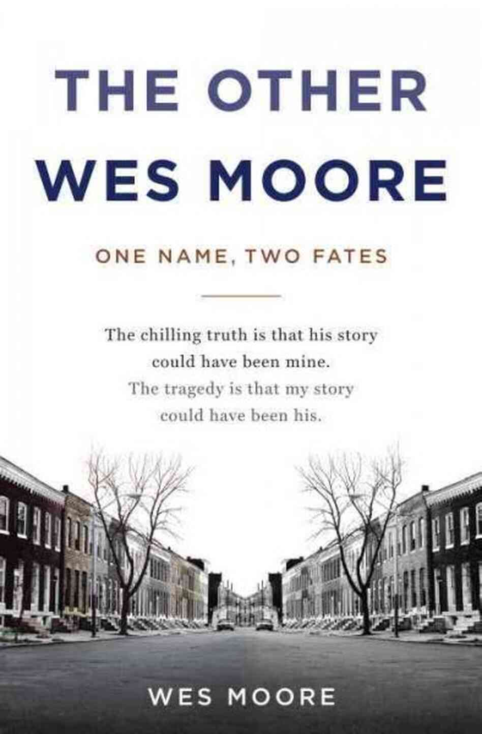 an analysis of wes moores the other wes moore The story of these two men is told in the other wes moore, a new book written by the successful wes moore, with the cooperation of his less fortunate namesake  but the successful wes' mother.