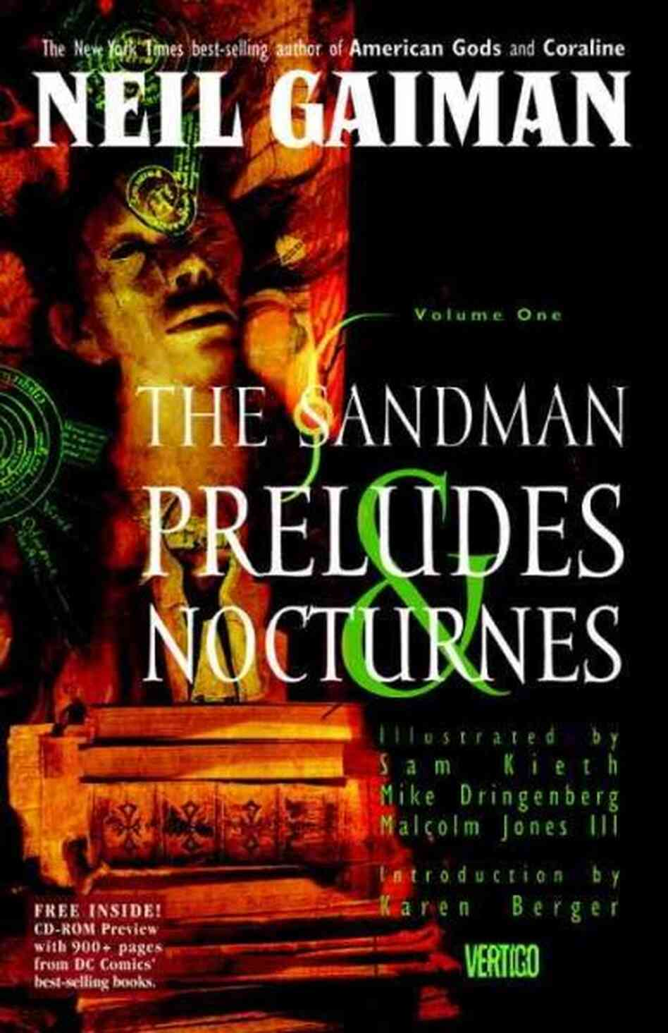 Book Cover Fantasy Explanation : The sandman