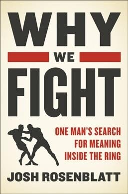 In Why We Fight One Man Searches For Self Knowledge Through Mixed Martial Arts Npr