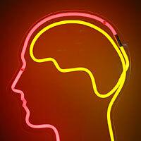 Neon brain.