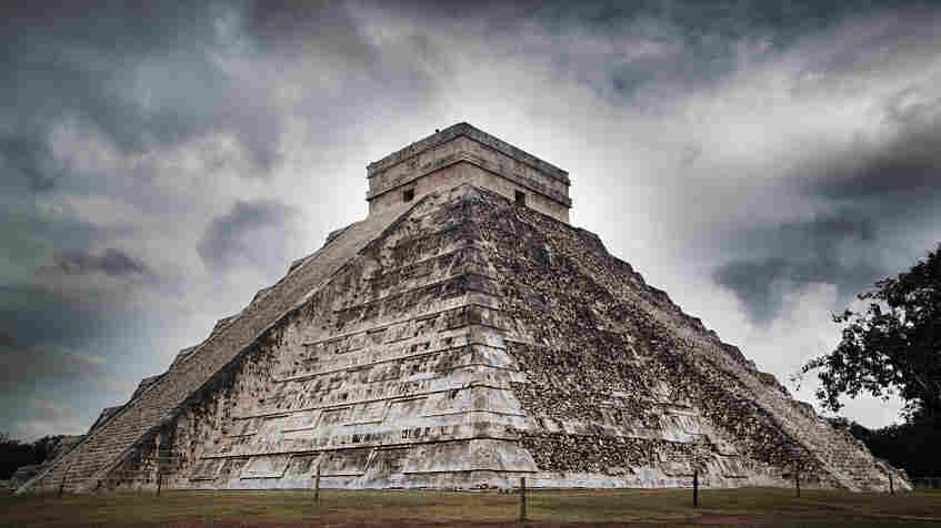 Mayan temple.