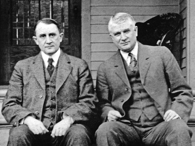 The Mayo Brothers, founders of the eponymous clinic, believed in salaries for doctors.