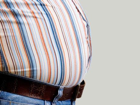 bulging waist.
