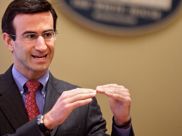 OMB Director Peter Orszag