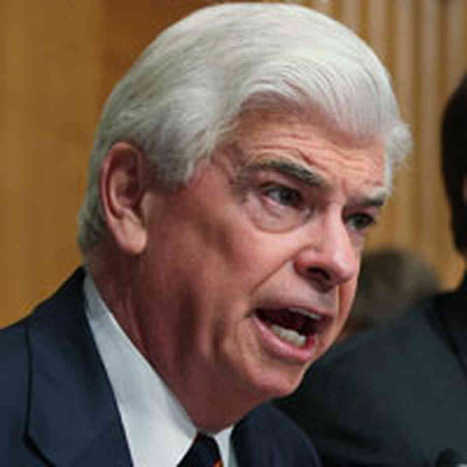 Connecticut Senator Christopher Dodd