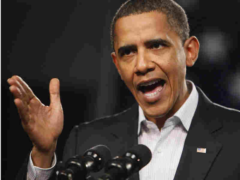 President Obama holds a town hall meeting in Elyria, Ohio, Friday, Jan. 22,