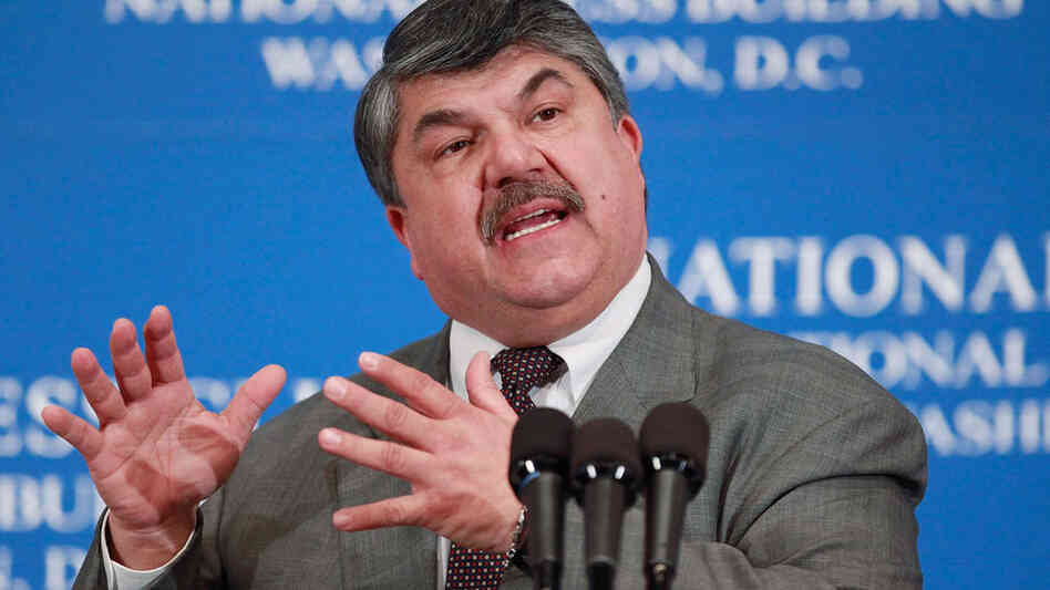 Richard Trumka, President of the AFL-CIO.
