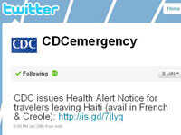 The CDC offers tips on how to use Twitter.