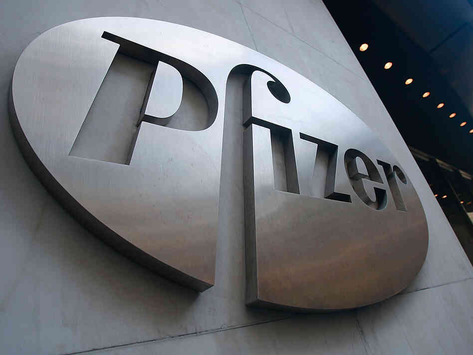 Pfizer headquarters in New York.