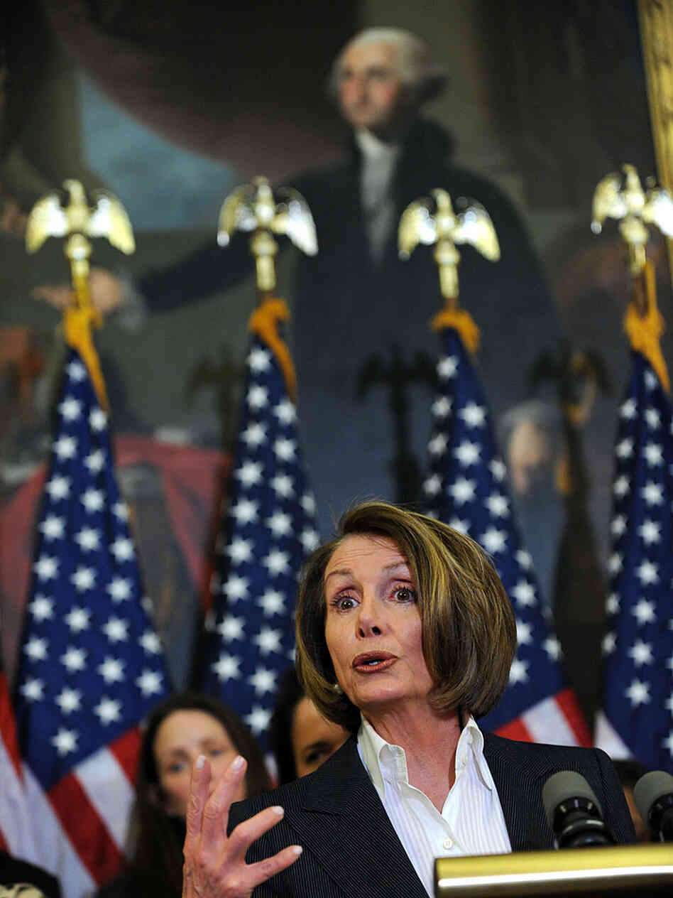 Nancy Pelosi on March 15, 2010.