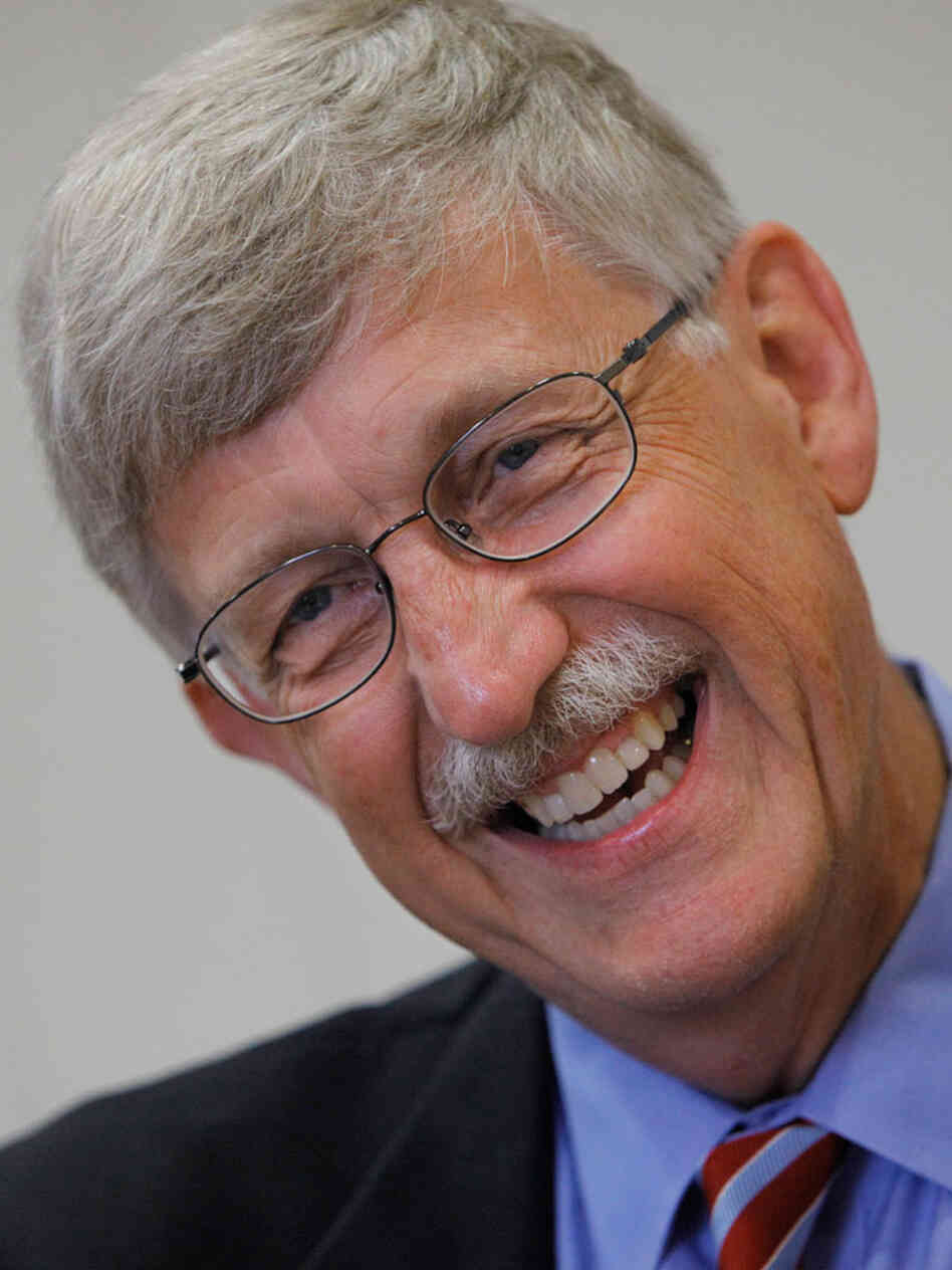 National Institutes of Health director, Dr. Francis Collins.