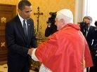 President Obama meets Pope Benedict XVI..