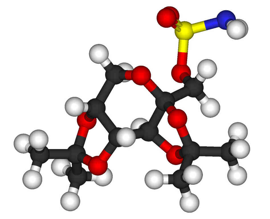The Topamax molecule.